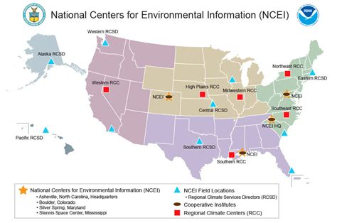 Is Geographical Location by About Us Ncei