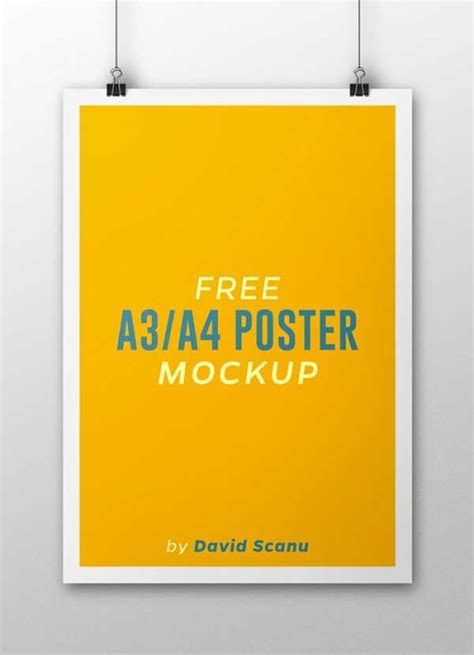 Poster Mockup Poster Mockup Templates For Showcasing Your Designs