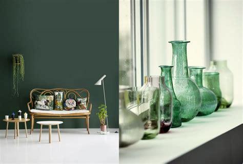 deco chambre verte chambre vert bouteille design de maison