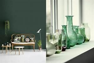 decoration mur vert With couleur tendance peinture salon 9 vert deco decoration peinture mobilier accessoires