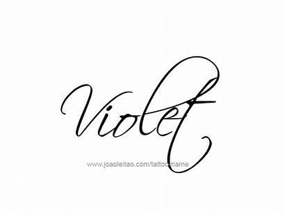 Violet Tattoo Designs Names Fonts Tattoos Script
