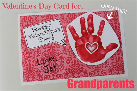 Valentine's Day Card for Grandparents - Happy Home Fairy
