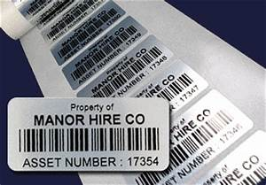 asset labels With asset tag label printer