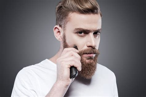 electric shaver men thick hair