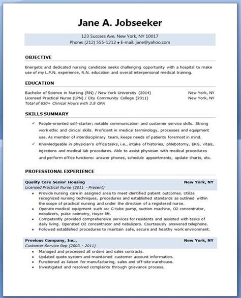 sample resume  nursing student student nurse resume