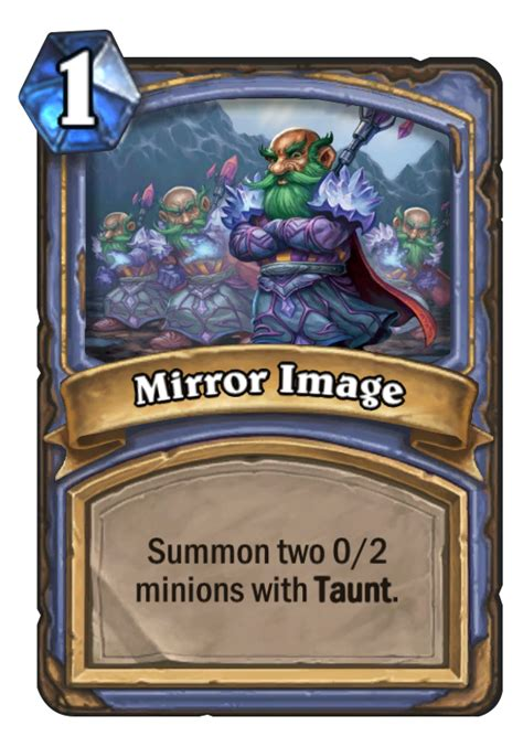mirror image hearthstone card