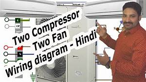 Air Conditioner Compressor Wiring Diagram- Hindi