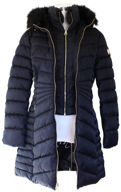 laundry  shelli segal petrol trim puffer jacket