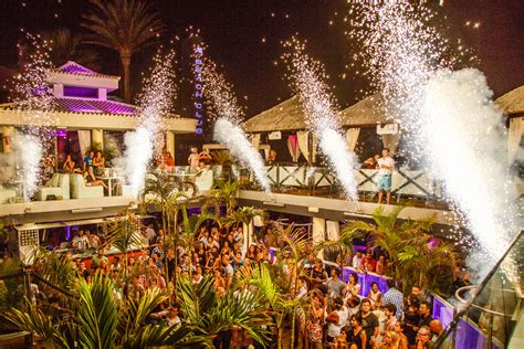 papagayo beach club bars  nightclubs tenerife
