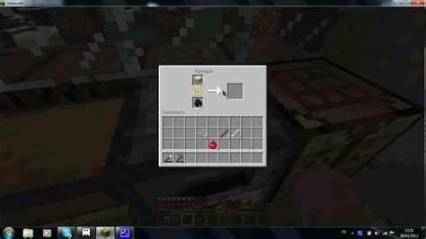 tuto comment faire du verre dans minecraft