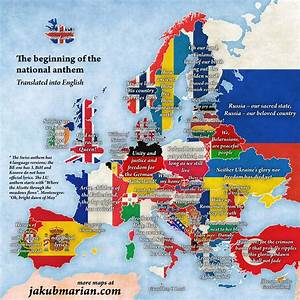 National anthem by country in Europe