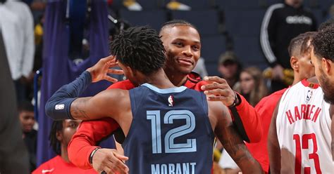 "Ja Morant Feels Like Russell Westbrook Is Still ""highly"