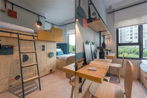 pisos de estudiantes vivir en  diseno compacto