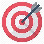 Target Objective Arrow Icon Sign Golf Center