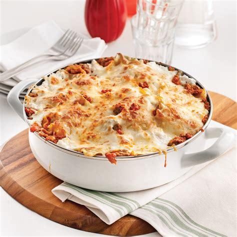 cuisine lasagne lasagne dans le poêlon recettes cuisine et nutrition