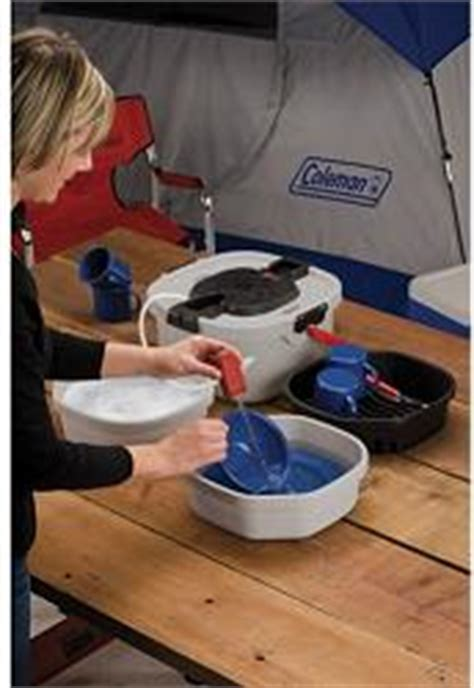 coleman all in one portable sink cingcomfortably