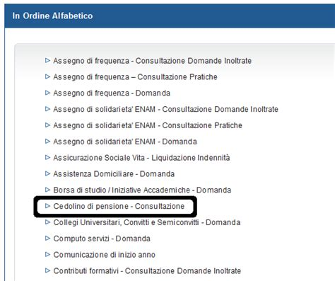 Www Inps It Contact Center Sede Cedolino Pensione Inps On Line Guida Ai Servizi