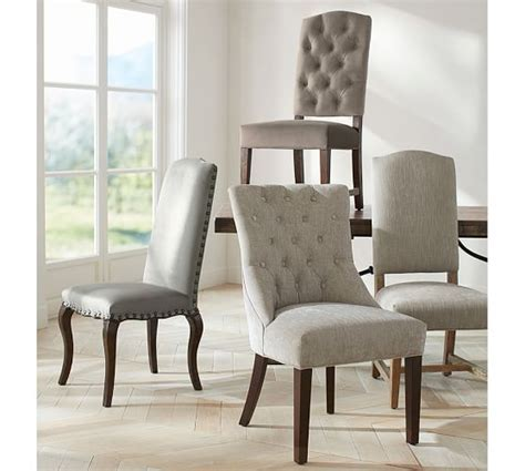 Ashton Tufted Dining Chair   Quick Ship   Pottery Barn