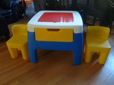 Tikes Table And Chairs With Drawers by Tikes Lego Table And Chairs Saanich