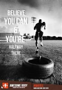 Fitness Motivation Quote Weight Lifting