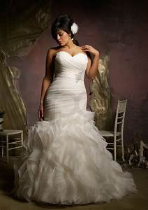 Plus size mermaid wedding dresses with sleeves for modest for Plus size mermaid wedding dresses