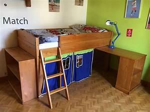 Lit D Occasion : lit armoire d occasion plus que 3 60 ~ Melissatoandfro.com Idées de Décoration
