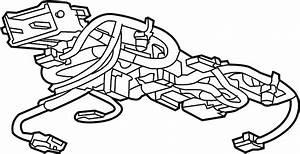 Chevrolet Silverado 1500 Console Wiring Harness  W  O