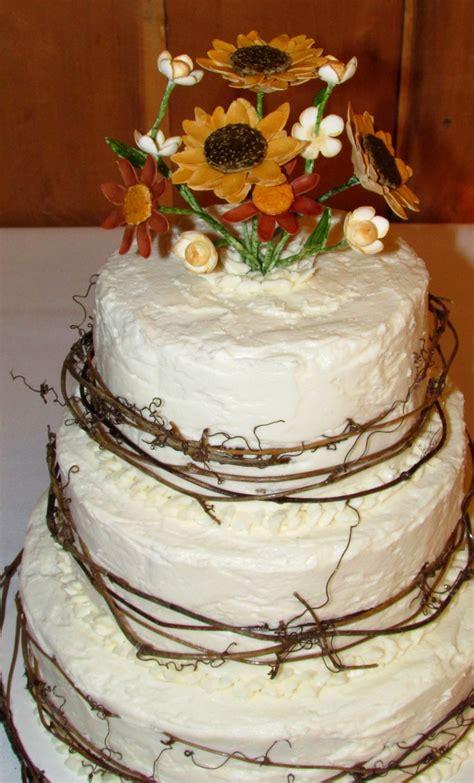 Rustic Summer Wedding Cake