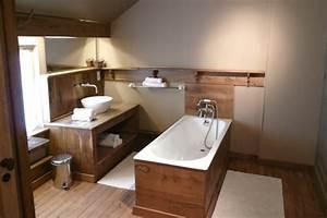 Caillebotis Bois Salle De Bain : d coration salle de bain bois ~ Premium-room.com Idées de Décoration