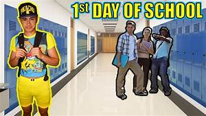WEARING EMBARRASSING POKEMON OUTFIT ON FIRST DAY OF SCHOOL ...
