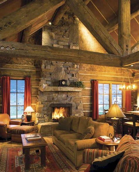 favourite log cabin homes fireplace design ideas  homedecordiydesign