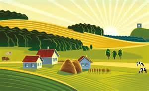 Agriculture Clip Art Farm Fields