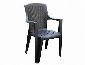Kunststoff Stühle Stapelbar : gartenstuhl eden stapelbar kunststoff anthrazit bei ~ Indierocktalk.com Haus und Dekorationen