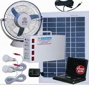 12 Volt Ventilator : solar home light set 12 volt fan perfect power solutions ~ Jslefanu.com Haus und Dekorationen