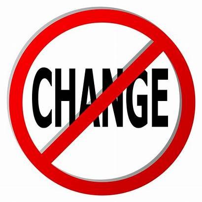 Change Verandering Geen Arrow Changement Pas Road