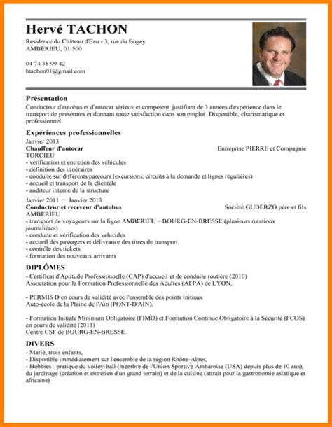 commis de cuisine suisse 8 cv chauffeur livreur modele de lettre