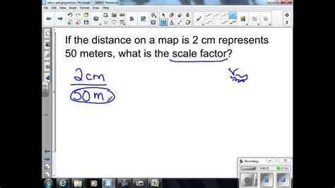 scale drawings  scale factors  grade math youtube