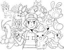 disegni dei pokemon da colorare