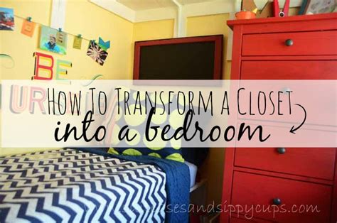 big family small space how to turn a closet into a kid