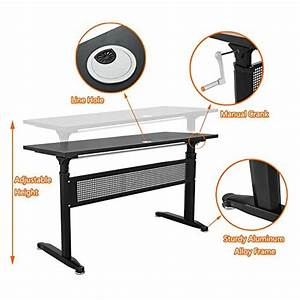 Buy Win Up Manual Height Adjustable Sit Standing Up Desk