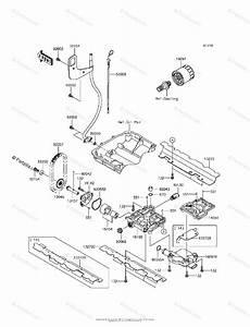 Kawasaki Jet Ski 2014 Oem Parts Diagram For Oil Pump