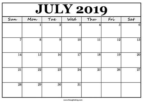 printable calendar big boxes ten  printable