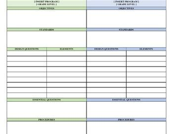 marzano lesson plan marzano dual grade lesson plan template by shelly tpt