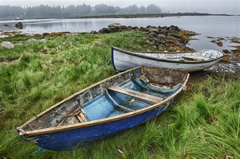 Old Boat Props by Old Beached Row Boats Prop Them On A Boat Stand Put A