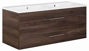 Waschtischunterschrank 120 Cm : schulz badprofi fackelmann waschtisch waschtischunterschrank 120 cm braun ulme ~ Indierocktalk.com Haus und Dekorationen