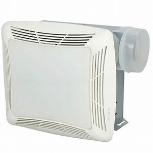 Nutone 70 Cfm Ceiling Bathroom Exhaust Fan With Light
