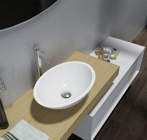 waschbecken 50 x 35 aufsatzwaschbecken tw2106 aus mineralguss acrylic