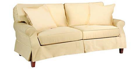 Slipcovered & Skirted Pillow Back Sleeper Sofa