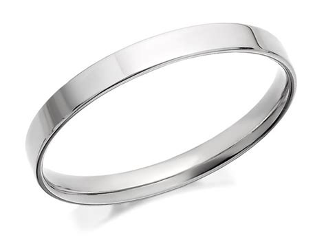9ct white gold flat court wedding ring 2 5mm r2467 f hinds jewellers