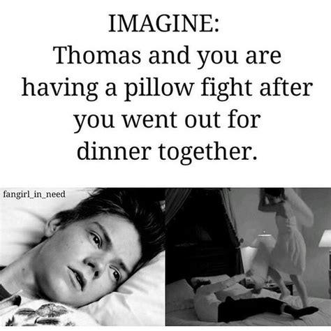 Thomas Brodie Sangster Reader Imagines Pillow